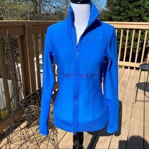 Adidas by Stella McCartney Jackets & Coats - ADIDAS by STELLA MCCARTNEY Blue Front Zip Jacket